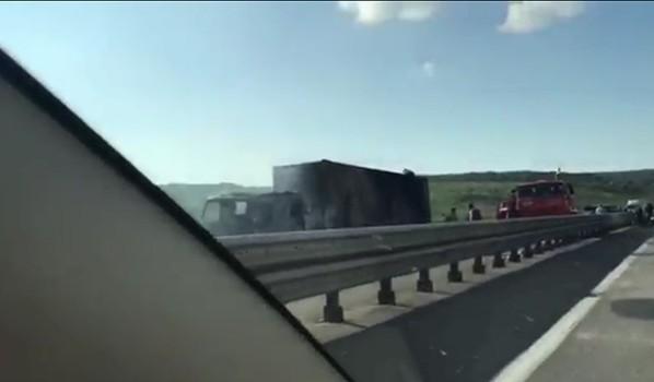 Авария на федеральной трассе.