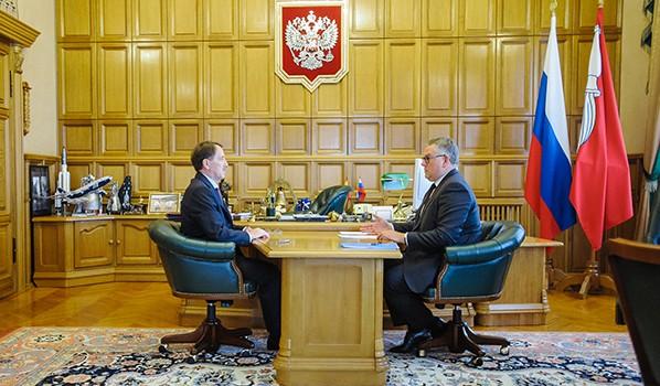 Алексей Гордеев и Олег Мосолов.