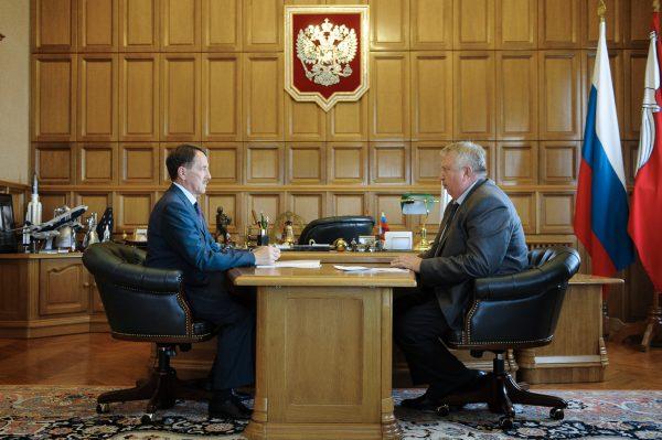 Алексей Гордеев и Юрий Гончаров.