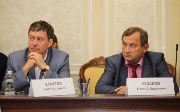 Олег Захаров, Сергей Рудаков.