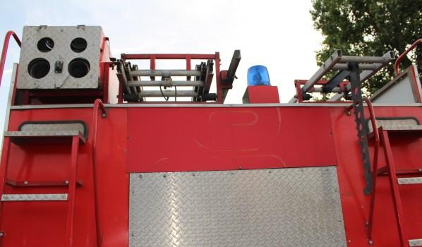 Огонь тушили 4 пожарных отделения.