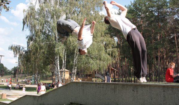 Воронежцы ведут здоровый образ жизни.