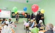 Губернатор посетил новую школу.