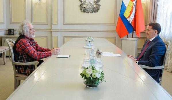Встреча с Алексеем Венедиктовым.