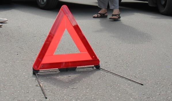 В аварию попали восемь авто.
