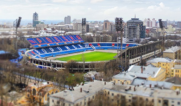 Стадион «Профсоюзов».