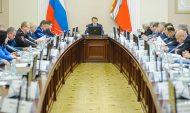 Еженедельное оперативное совещание в правительстве Воронежской области.
