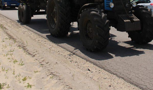 ВВоронежской области полицейские вернули угнанный трактор его законному собственнику