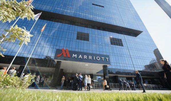 Отель «Марриотт» в Воронеже.