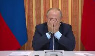 Путин на совещании в Воронеже.