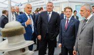 На выставке российских компаний-разработчиков в области телекоммуникаций.