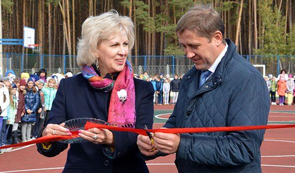 Андрей Соболев и Татьяна Татаринская.
