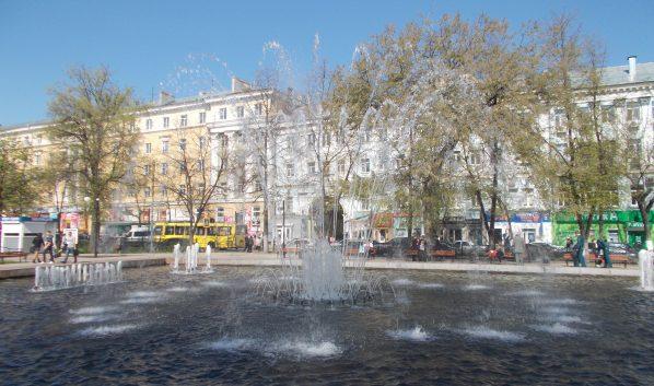 ВВоронеже отключили фонтаны вКольцовском сквере инаплощади Победы