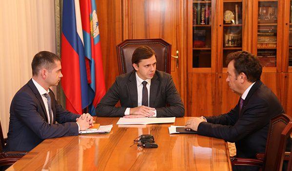 Андрей Клычков, Владимир Салмин и Ярослав Скирта.