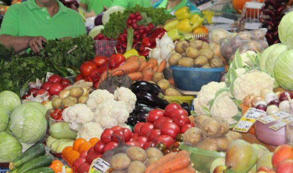 Запрещенные овощи нашли на оптовой базе.