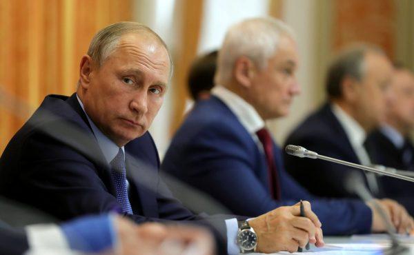 Владимир Путин в Воронеже.