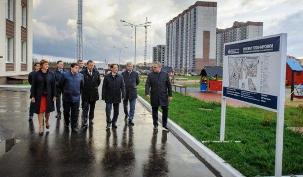 Вворонежском микрорайоне Шилово открылся детский парк на220 мест