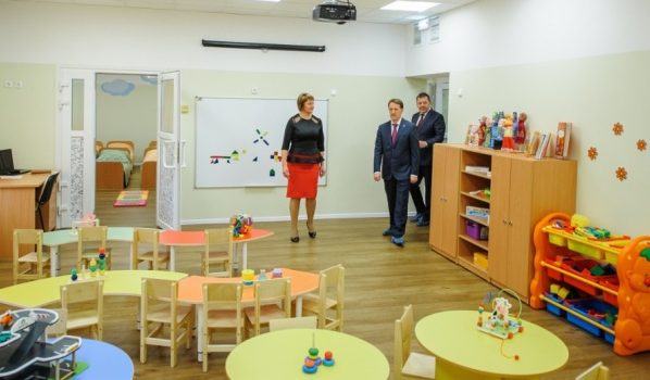 В Воронеже открыли новый детсад в Шилово.