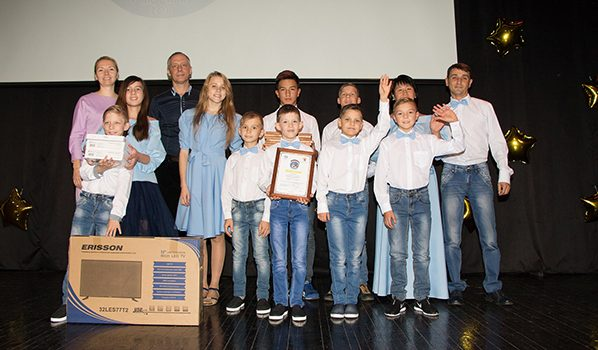 Приемная семья с13 детьми изВоронежской области стала лучшей в РФ