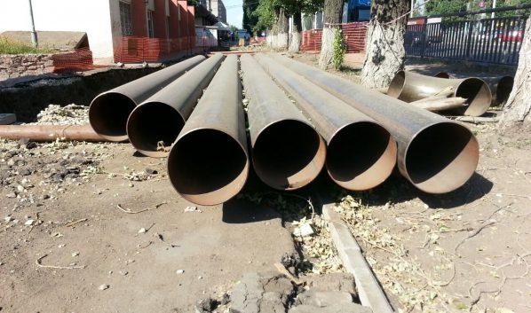 Воронежец украл труб на 250 тысяч рублей.
