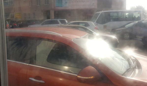Утром вовторник улицы Воронежа сковали пробки в9 баллов