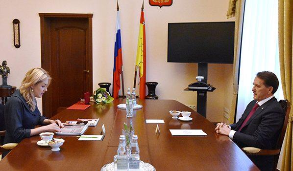 Алексей Гордеев и Наталия Хван.