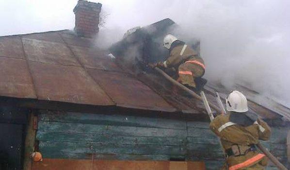 Дачный домик сгорел.