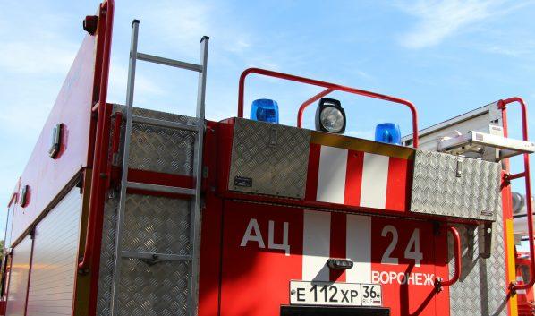 Огонь тушили 3 пожарных отделения.