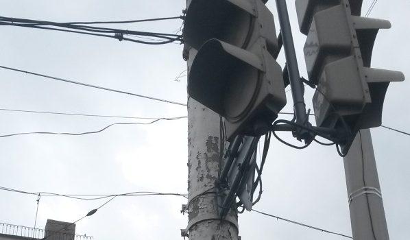 Светофор не работает.