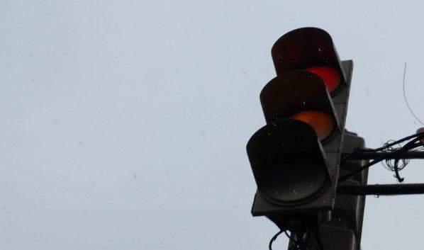 Светофор починили