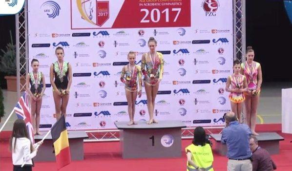 Спортсменки завоевали серебро.