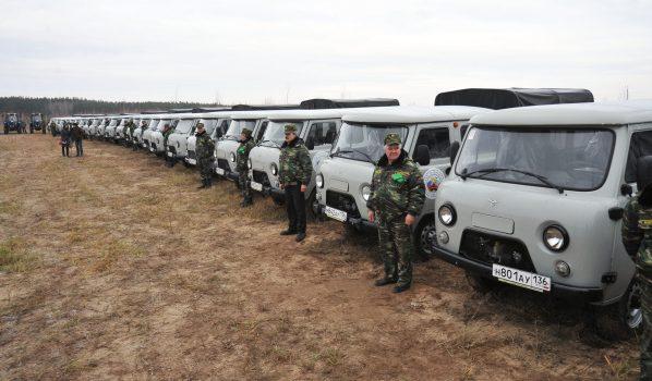 Лесопожарному центру передали технику на 50 млн рублей.