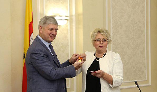Александр Гусев и Надежда Савицкая.