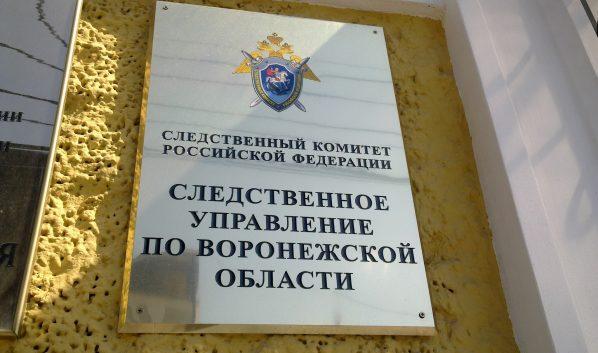 Следственный комитет РФ по Воронежской области.