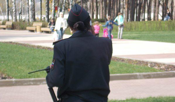 Сотрудница полиции.