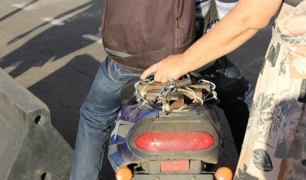 Воронежец пытался продать ворованный скутер.
