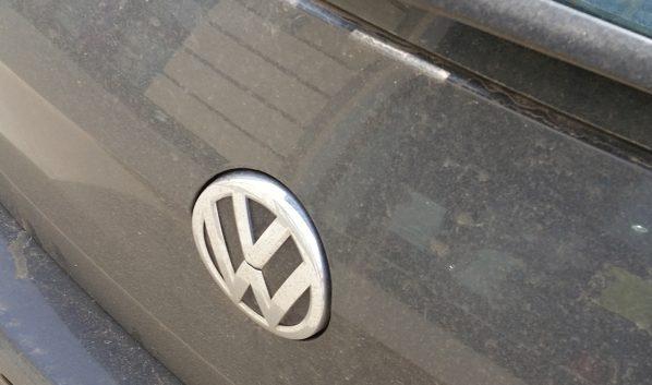 Volkswagen сгорел.