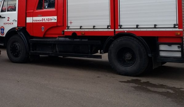 В Воронеже сгорела иномарка.