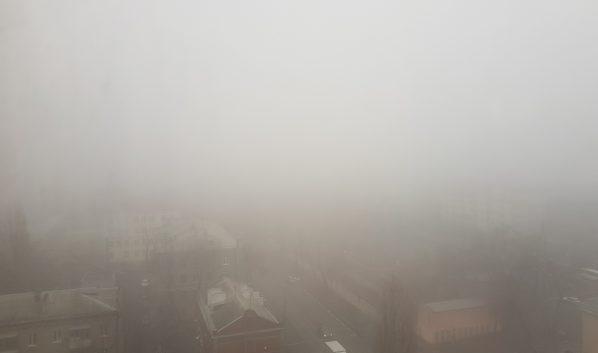 Вот такая сейчас видимость в Воронеже.