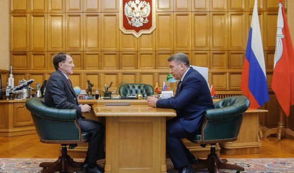Алексей Гордеев с Иваном Мошуровым.