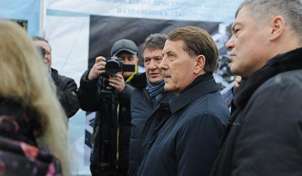 Алексей Гордеев в Борисоглебске.