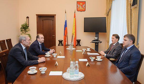 Встреча прошла в правительстве региона.