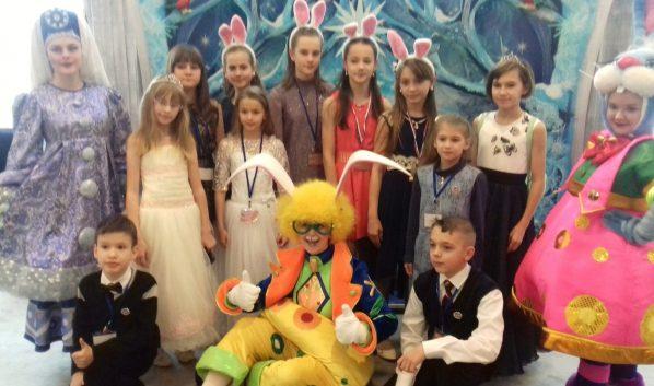 Воронежские дети на ёлке в Кремле.
