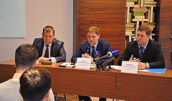 Встреча руководства ДСК с журналистами и редакторами СМИ.