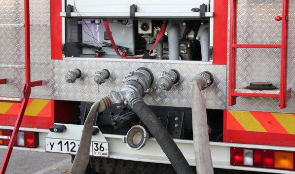 Пожар был оперативно потушен.