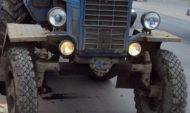 Угнали тракторы.