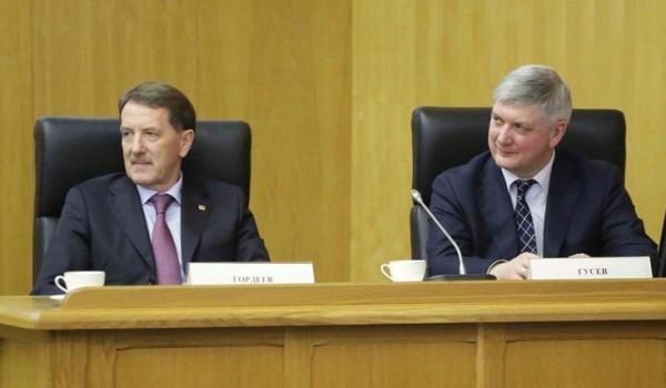 Алексей Гордеев и Александр Гусев.