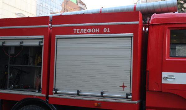 Огонь тушили 6 спасателей.