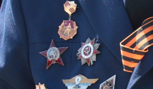 Мужчина похитил медали ветерана.