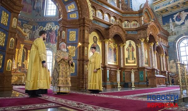 Митрополит Воронежский и Лискинский Сергий.